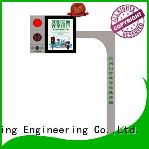 YEROO led screen display free standing for shopping mall