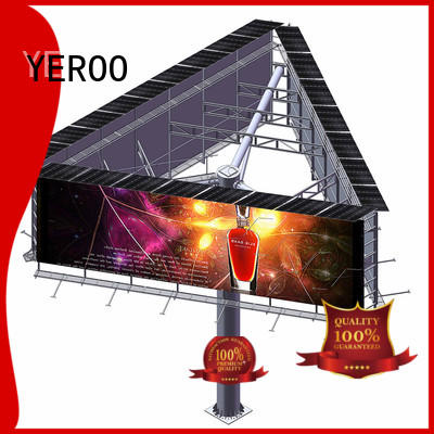 three sided billboards outdoor advertising order now for highway