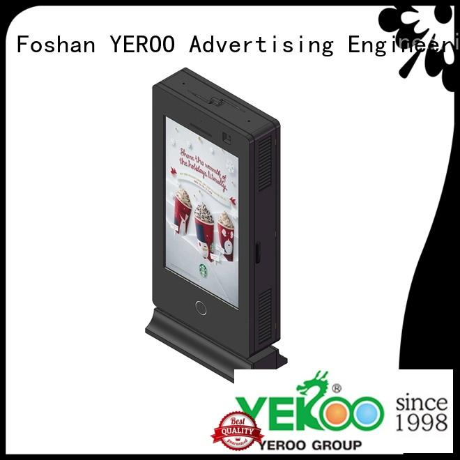 YEROO double side outdoor totem universal for marketing