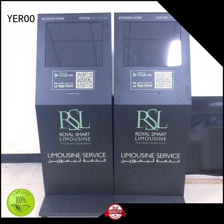 YEROO wholesale digital kiosk top brand for outdoor ad