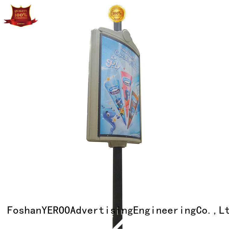 furniture pole led display vending YEROO