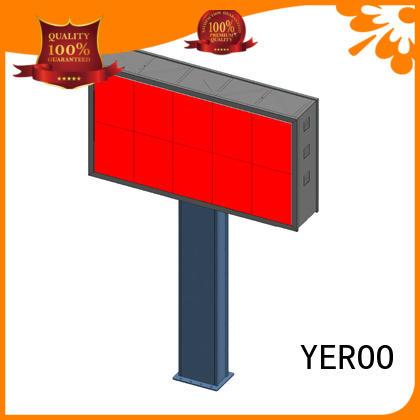 shaped led billboard sided YEROO