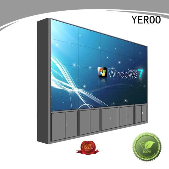 YEROO stainless steel LCD video wall light street adverting