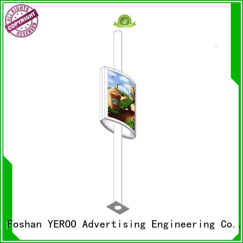 YEROO pole led display high quality for highway
