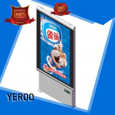custom light box signs led backlit for store YEROO