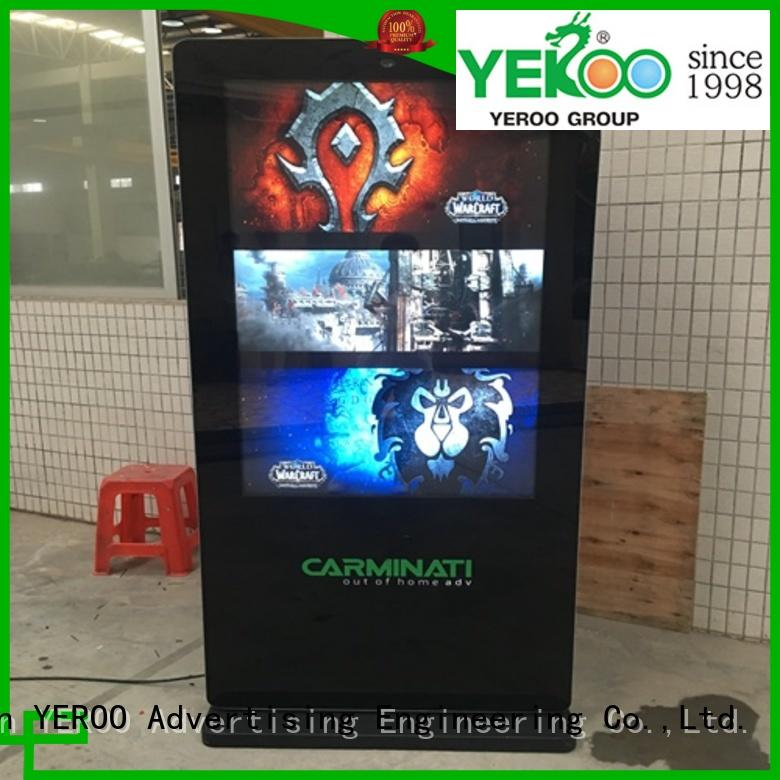 fast installation interactive kiosk universal for parking lot