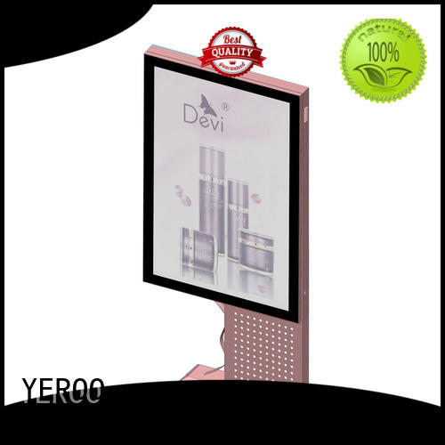 YEROO factory direct price digital light box aluminum for store