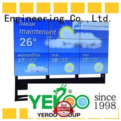 YEROO stainless steel digital display screen city advertising
