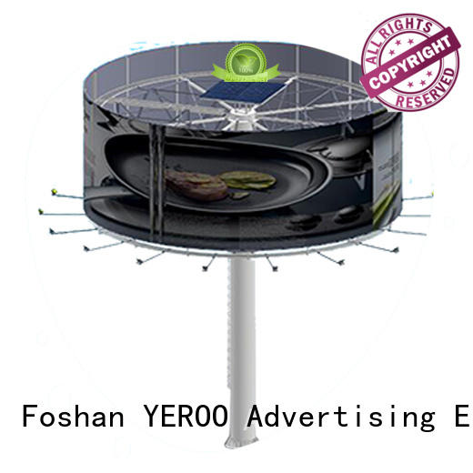 YEROO front light highway billboard advertising fro market
