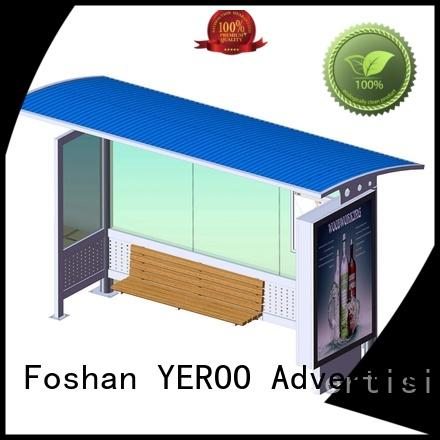 suburb advertising metal bus stop shelter order now YEROO
