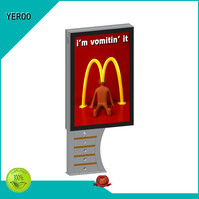 YEROO wholesale outdoor led light box mounted outdoor light