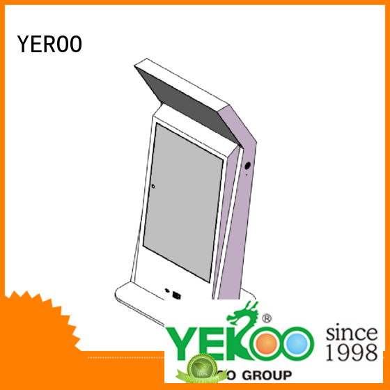 digital all in one touch for outdoor ad YEROO