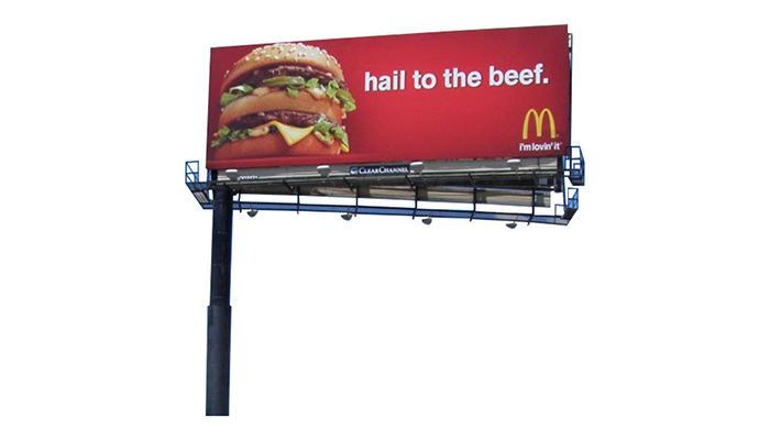 YEROO-Professional Billboard Outdoor Solar Advertising Billboard Supplier