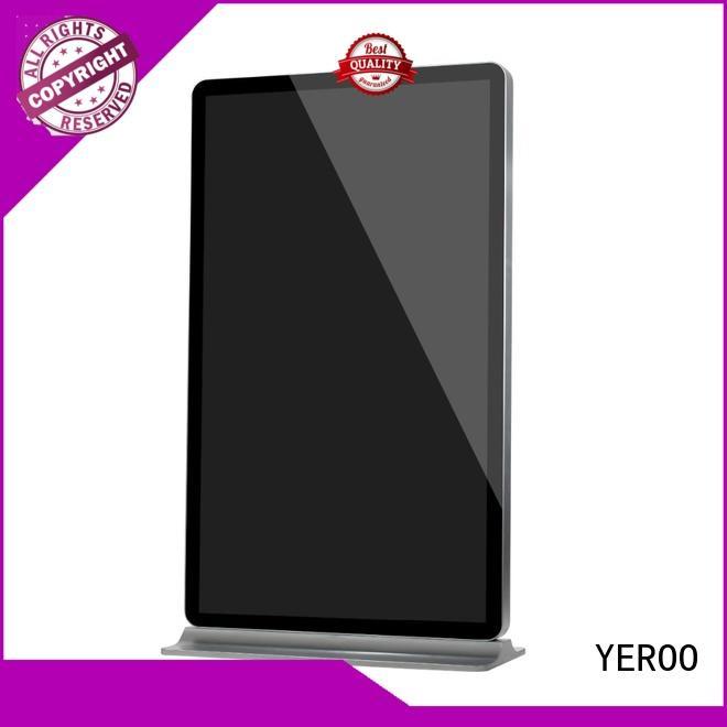 removable structure digital kiosk advertising kiosk for store YEROO