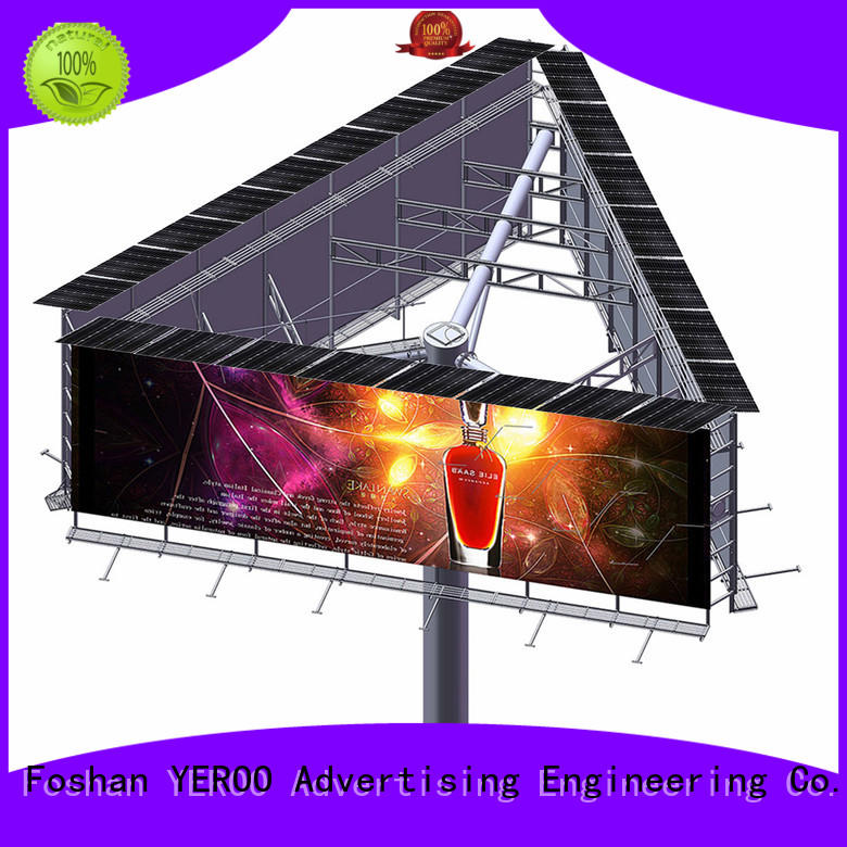 YEROO billboard stand supplier fro market