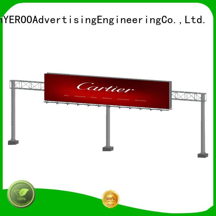 YEROO double side billboard stand metal fro market