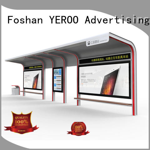 YEROO box smart bus shelter customization service for suburb