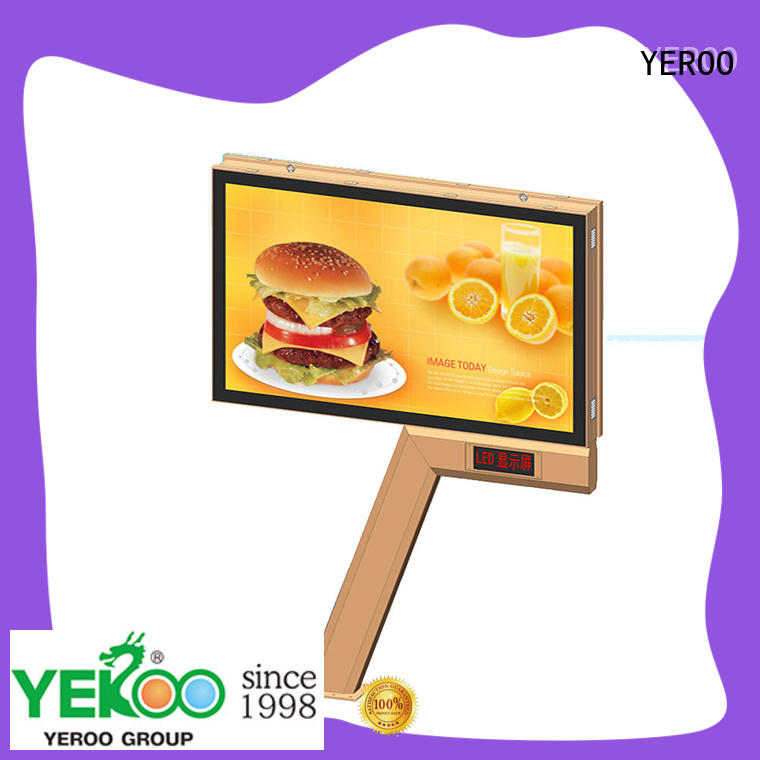 YEROO scroll billboard sale for highway