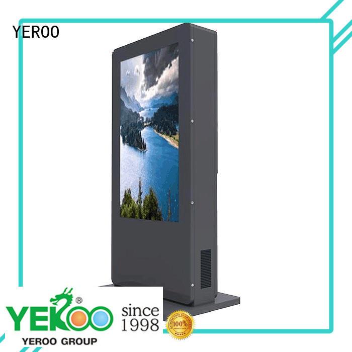 YEROO floor standing interactive kiosk hot-sale for parking lot