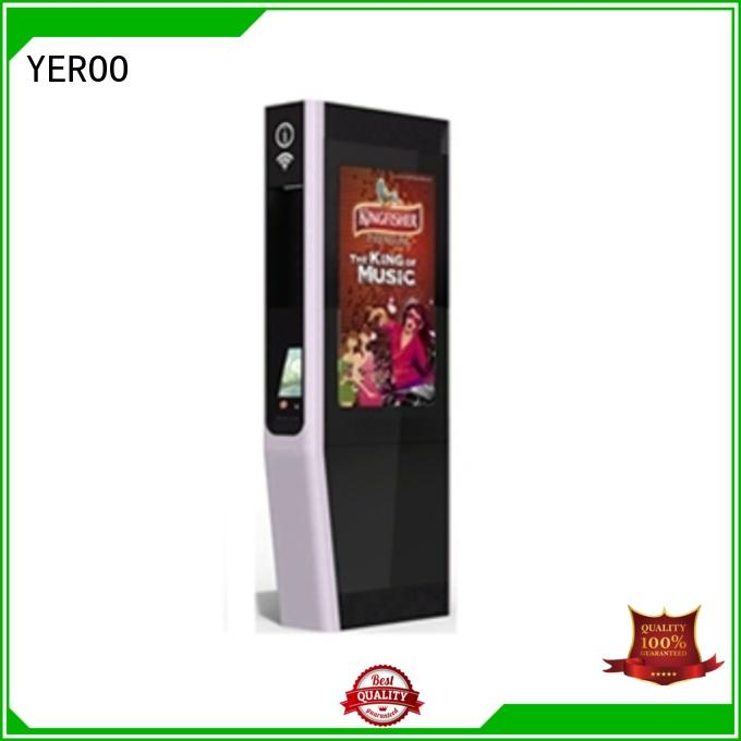 YEROO outdoor totem universal for parking lot