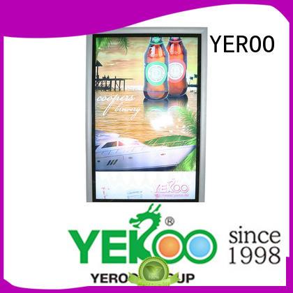 YEROO outdoor led light box panels outdoor light