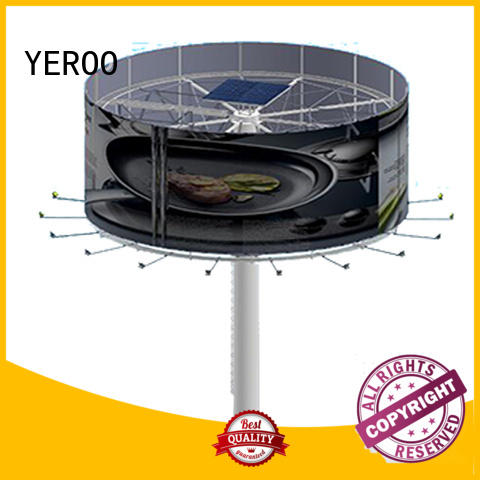 YEROO outdoor billboards manufacturer for advertising