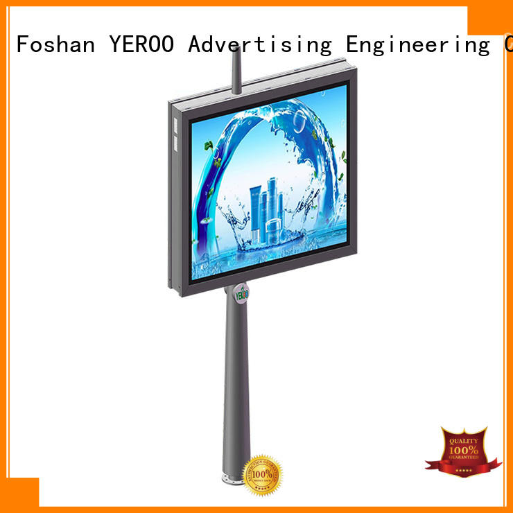 YEROO outdoor light box sign effective for advertising