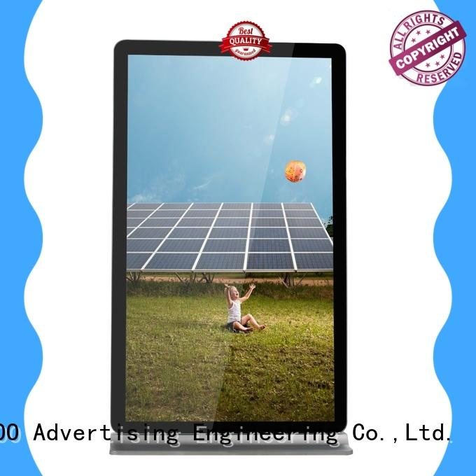 75inch advertising lcd digital screen signage