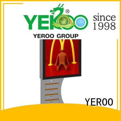 double backlit sign box led for street ads YEROO