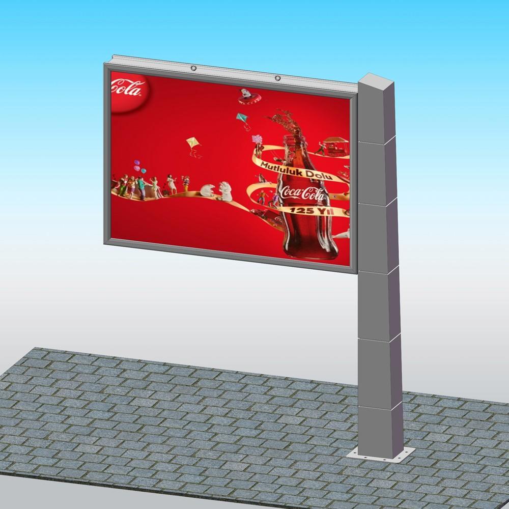 YEROO-Find Advertising Billboard Outdoor 4m X 3m Free Standing Backlit Billboard