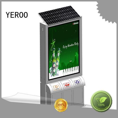 energy-saving advertising led light box bulk production for marketing YEROO