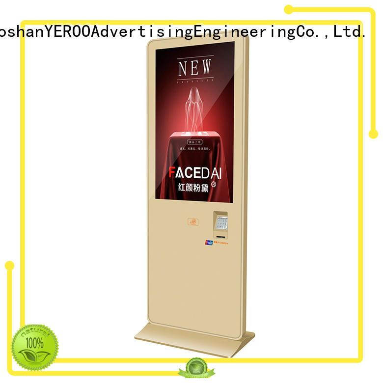 YEROO pos machine Indoor LCD display ask now smart shopping