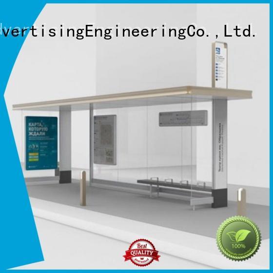 smart bus shelter information for road YEROO