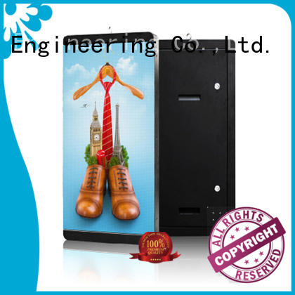 digital marketing led screen display stand for shopping mall