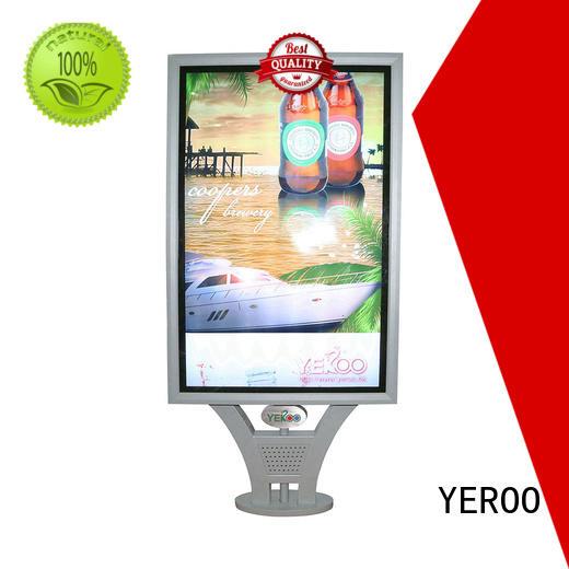 YEROO outdoor light box sign for advertising