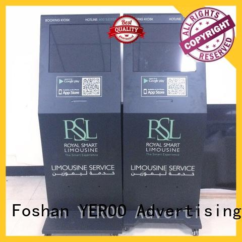 YEROO touch screen kiosk favorable quality