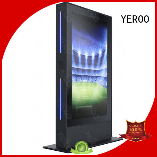 YEROO wall mounted Outdoor LCD display universal for parking lot