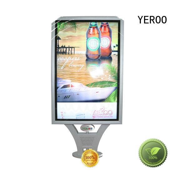 YEROO billboard backlit signage box led for advertising