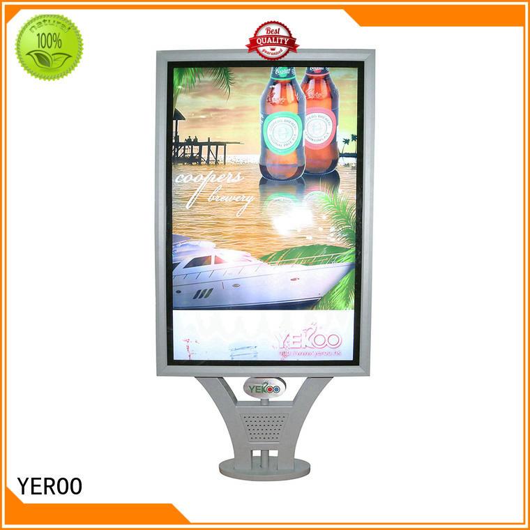 YEROO scrolling light box effective for advertising