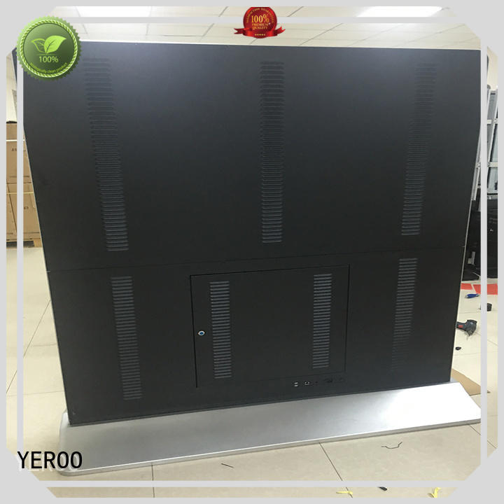 YEROO wall-mounted digital signage displays favorable quality lcd screen