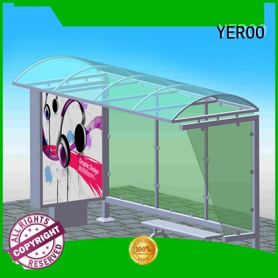 YEROO wholesale Bus Shelter bulk supply