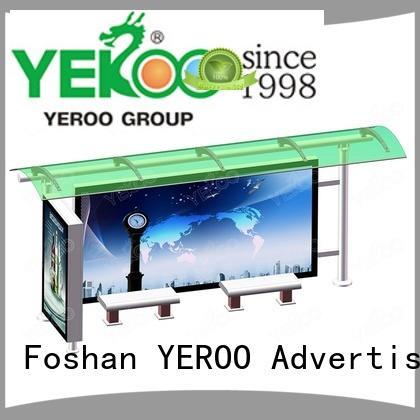 bus shelter manufacturer metal YEROO