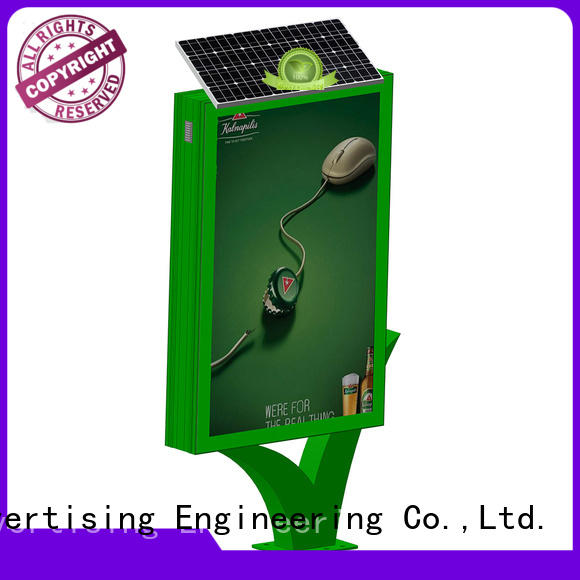 YEROO standing light box free quote for street ads