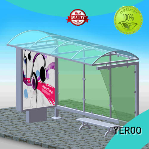 custom bus stop shelter advertising check now YEROO