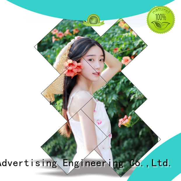 YEROO double sided wall screen video outdoor ad