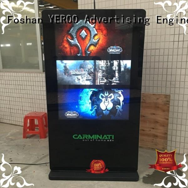digital signage advertising universal for outdoor ads YEROO