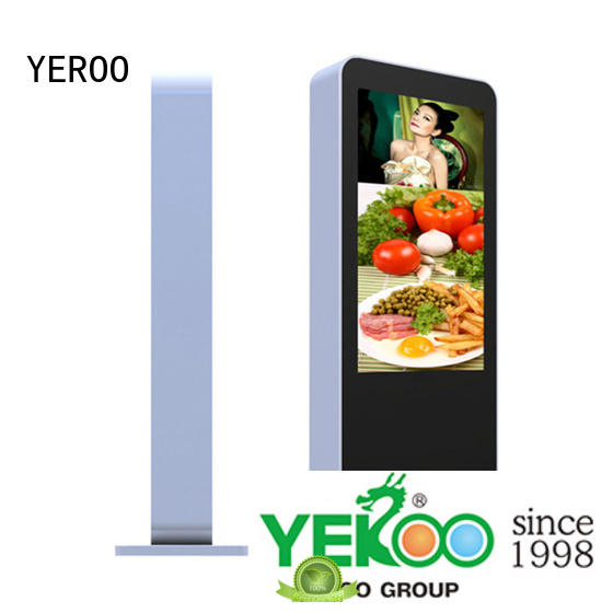 YEROO double side Outdoor LCD display popular for outdoor ads