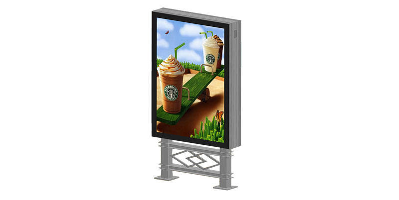 YEROO-Backlit Sign Box, Double Sided Mupi Scrolling Light Boxyr-sclb-0008