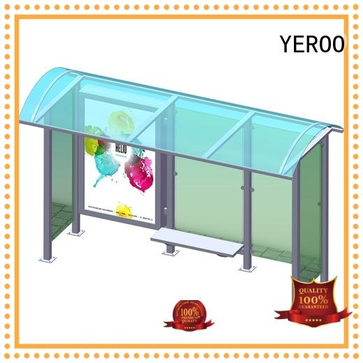 YEROO bus stop shed customization service for suburb