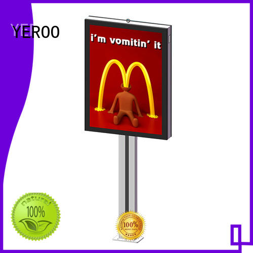 single box light box billboard led backlit street advertising YEROO